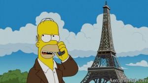 Los Simpson llegan a Francia